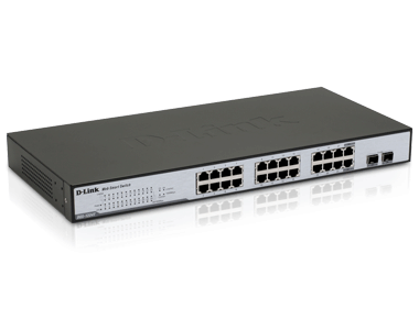 Dgs-1224t 24-portars 10/100/1000mbps gigabit ethernet switch | d.